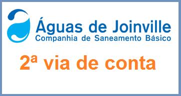 2ª Via FATURA BOLETO ÁGUAS DE JOINVILLE ACESSE OU LIGUE