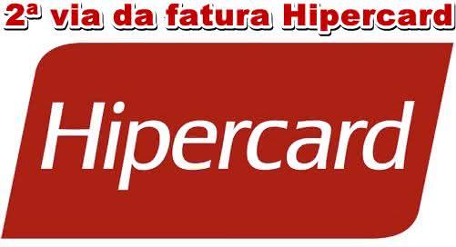 2ª Via FATURA BOLETO E CARTÃO HIPERCARD COMO CONTRATAR